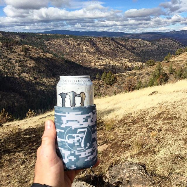 Lucky koozies @charbarno7!  @sfdunstan & his bro Jay both bagged an elk.  Thanks for the shout out!  #dunstangroup  #customkoozies #chabar7#Repost @charbarno7 ・・・Thanks to Scott, our apparel guy at @dunstangroup for sharing this pic of one of our new #CharBarNo7 koozies in #Oregon! 🏼#travel