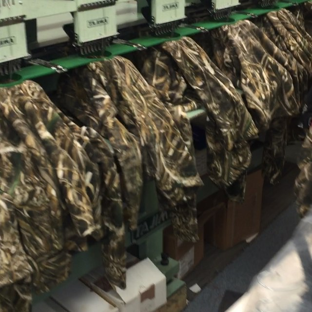 The holidays are upon us!  #holidayrush #embroidery #camo #dunstangroup #thankful #merrychristmas
