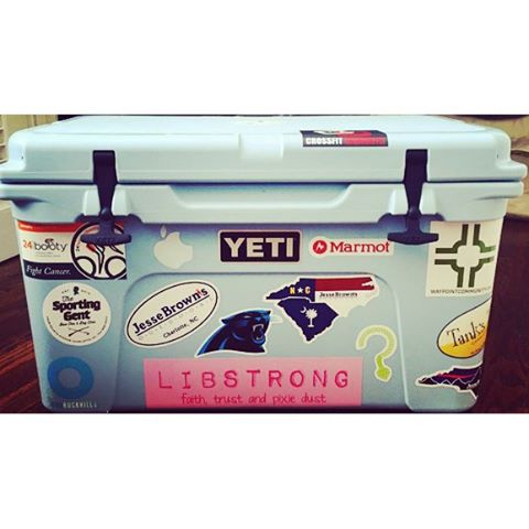 In honor of #nationalstickerday... Loving all of our clients represented here!  #carolinapanthers #LIBSTRONG #24hoursofbooty #jeesebrowns #waypointchurch #riderockhill #unknownbrewing #thesportinggent #tankstap #crossfitdilworth #dunstangroup #customeverything #yeti