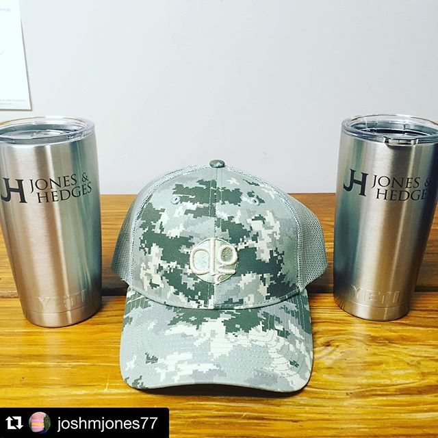 Thinking of building your next home or renovating the one you have, think of @joshmjones77 - www.jonesandhedges.com#Repost @joshmjones77・・・Thank you @dunstangroup and @sfdunstan for keeping us well dressed and well hydrated in 2016! #yetitumbler
