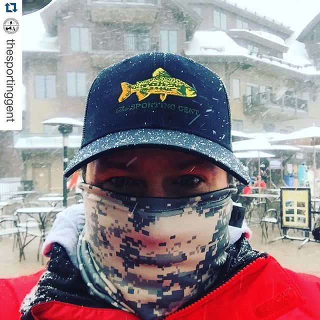 Lots of hot new embroidered cap designs on the shelves at our friend's shop @thesportinggent.#dunstangroup #Repost @thesportinggent・・・Meanwhile in the Rockies | #thesportinggent #brookietrucker #bowtiestodryflies #purveyorsofthelifestyle #haveafieldday (: @dunstangroup)