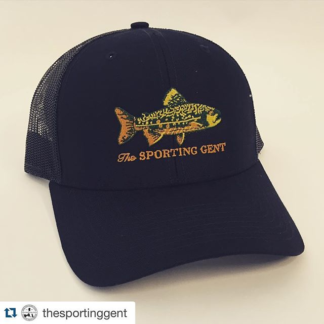 Check out our friends' new line at @thesportinggent.  #dunstangroup #Repost @thesportinggent・・・NC Born and Raised Trucker | #brookietrucker #thesportinggent #purveyorsofthelifestyle #bowtiestodryflies #haveafieldday