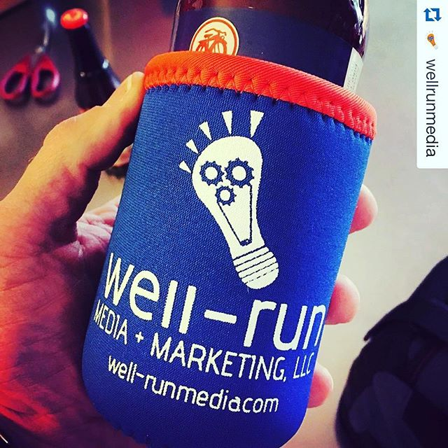 Lots of clients are taking advantage of our March Special - the Fully Customizable Koozie with 20+ color combinations.  Such a fun and functional way to get your brand out there for approx 30% less than normal!  Thanks for the shout out @wellrunmedia!  #dunstangroup #Repost @wellrunmedia ・・・New koozies from @dunstangroup