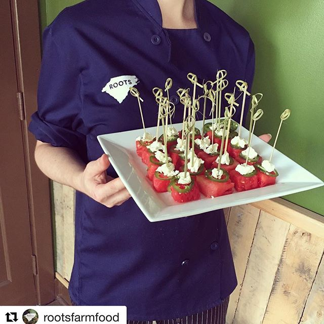 Thank you @rootsfarmfood! #rootscatering #dunstangroup#Repost @rootsfarmfood・・・These embroidered chef coats from the Dunstan Group may just be cooler than our Jalapeño Feta Watermelon Cubes on a hot summer day. Thank you @dunstangroup SO much for your awesome craftsmanship and continuous support! We ️ our snazzy new apparel.