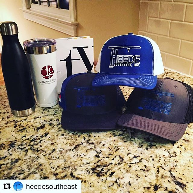 Thankful for strong partnerships and for the shout out!  Repost @heedesoutheastOur friends at the @dunstangroup have us ready for Christmas in plenty of time Here's a small sneak peak, with more to come  And they created some pretty amazing gifts of their own! Definitely check them out for all of your logo'd apparel and merchandise needs ????