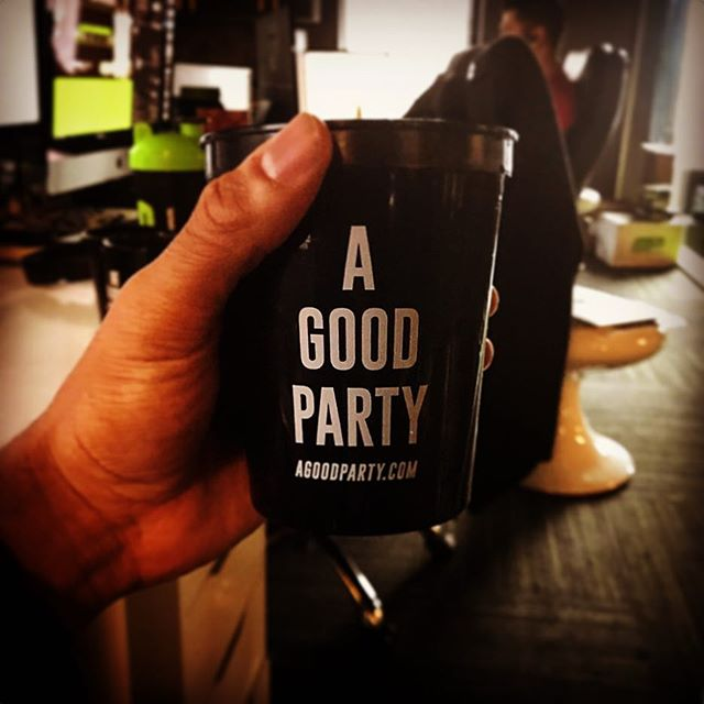 A GOOD PARTY for an awesome company! Check out our friends over at @beagoodpersonbrand ! Have a great night and best of luck in 2017! #AGoodParty #beagoodperson #dunstangroup