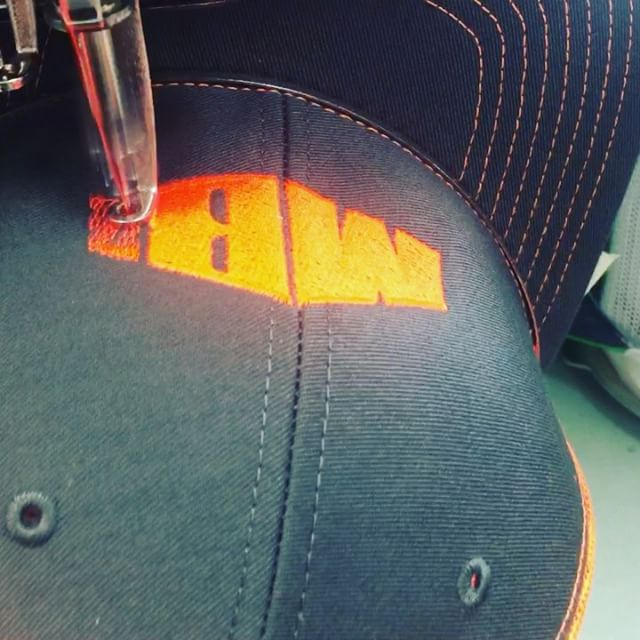 Beautiful things come together One stitch at a time!  #CustomHats #dunstangroup