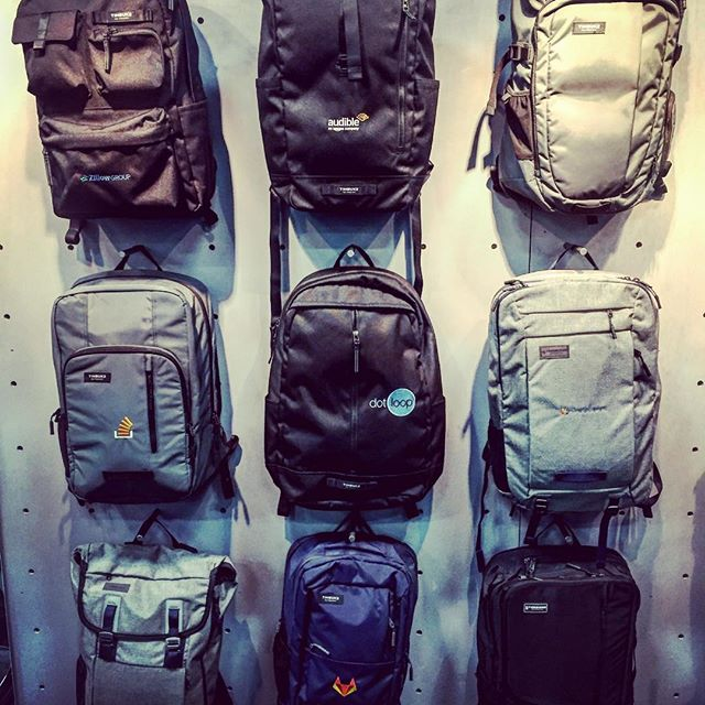 Backpack game is 🏾for 2017 with new designs, new colors, and a whole new level of functionality! #custombackpacks #dunstangroup #socialinmediappaiexpo