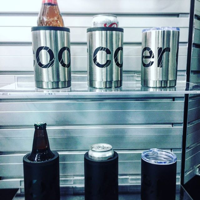What's cooler than a custom stainless steel tumbler that converts into a koozie for your beverage of choice? #whatscoolerthanbeingcool #CustomAnything #dunstangroup
