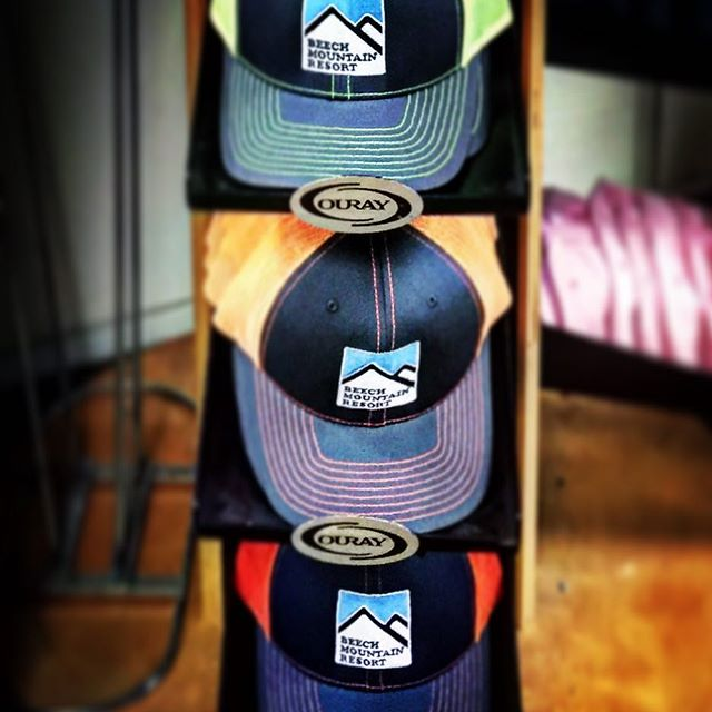 It's a great weekend to head to the NC mountains and visit our friends at @beechmtn We hear the SNOW is perfect and make sure to grab one of these custom Beech Mountain Hat's to remember your trip! #beechmountain #customeverything #dunstangroup