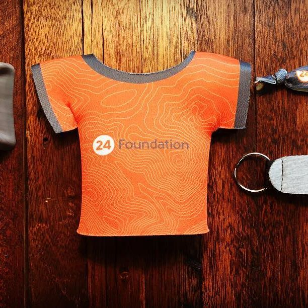 Rebranding can be difficult, but we think our friends over at @24_foundation are doing a great job! #NiceGear..#dunstangroup #customeverything #rebranding #Charlotte #bootyloop