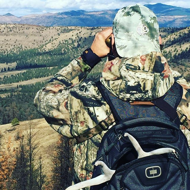 Lucky DG lid and new #ogio pack , just the right gear for the job.  #dunstangroup #richardsoncaps #ogiobackpack  #customeverything #huntingthenorthwest #oregon #scoutingelk #shedhunting