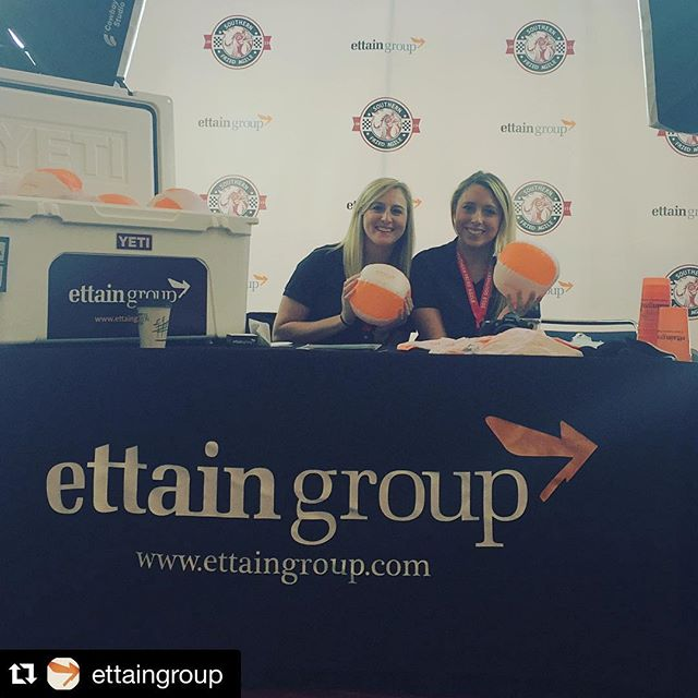 Get noticed like #ettaingroup at your next show or event!  Custom #Yeti #sticker, #tablethrow #beachballs, #moodcups and #stepandrepeat.  #dunstangroup #customevrything #Repost @ettaingroup・・・If you are at Southern Fried Agile stop by! We would love to talk with you!