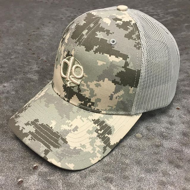 Definitely a favorite lid! #digicamo #puffembroidery #dunstangroup #embroidery