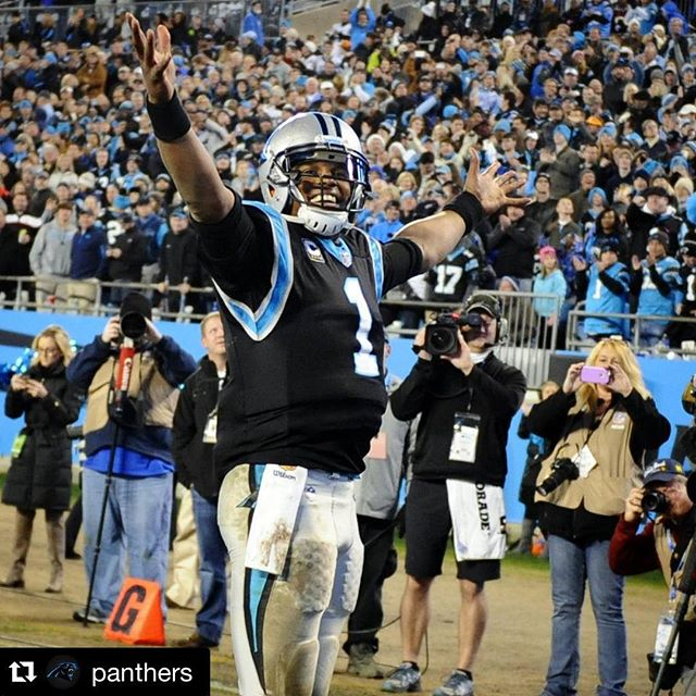 15-1.  Amazing work @panthers!! What a way to bring in the New Year. #MVP#Repost @panthers・・・#VictoryMonday! #KeepPounding