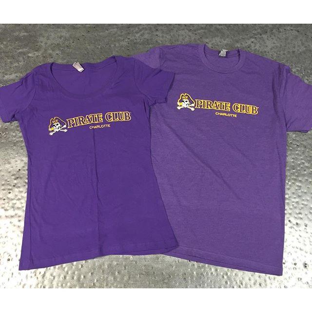 Arrrrghhhh!  Loving our ECU Pirate representation in Charlotte.  #eastcarolinauniversity #pirateclub #piratepride #purpleandgold #dunstangroup