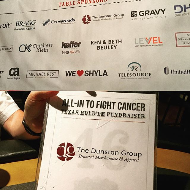 #tbt to @allintofightcancer - a super great cause with great friends!  #poker #dogood #fcancer #cancerstinks #dunstangroup #allin