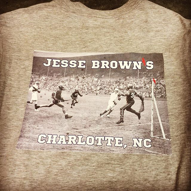 Keeping the old school alive on this custom tee for @jessebrownsoutdoors.  #reallifeprints #customtshirt #customeverything #dunstangroup