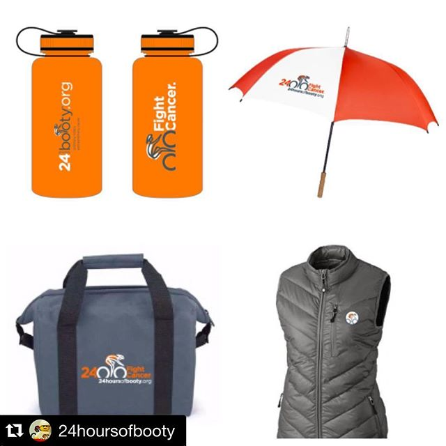 Help us kick cancer's ass!  Register here: www.24hoursofbooty.org.  Cool swag in your bag for raising funds for the cause!  #24hoursofbooty #24Hob #cancerstinks #dunstangroup#Repost @24hoursofbooty ・・・Check out the official 24 Hours of Booty gear for 2016 that you can earn with your fundraising dollars! Go BIG and set a goal above the minimum to get these awesome swag items to show your support for the fight against cancer year round! #24HOB #fightcancer #FightasOne #fundraisingincentives