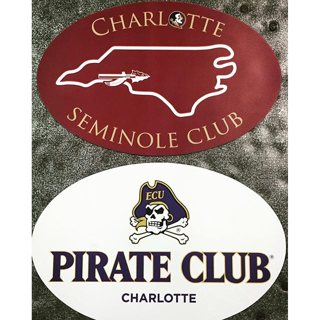 Do you support your local Alumni Chapter? Check out @exploreclt to find yours in the 704! @dunstangroup loves to support local alumni clubs with Custom Gear and Apparel! #CustomMagnets @charlotteseminoleclub @charlottepirateclub #love #happy #beautiful #follow #instagood #college #alumni #noles #pirates #ecu #fsu #football #baseball #magnets