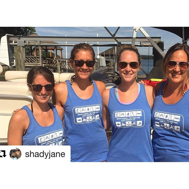 Thanks for the shoutout @shadyjane! #lakedaze #dunstangroup#Repost @shadyjane・・・Depew Crew Ladies in our @dunstangroup gear ????️️#lakedaze #lkn #dunstangroup @bcynoles