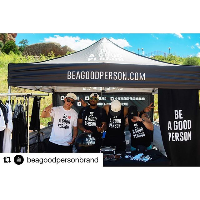 Check out our friends @beagoodpersonbrand!  #beagoodperson #sweetswag #dunstangroup. #Repost @beagoodpersonbrand・・・ Thank you to everyone who stopped by the booth and shared your stories, grabbed an item or just said hello. It was a day we will never forget & thank you @fitnessontherocks for hosting this event! #beagoodpersonbrand #dailyreminder #themostbasicconcept #positivevibes #fitnessontherocks