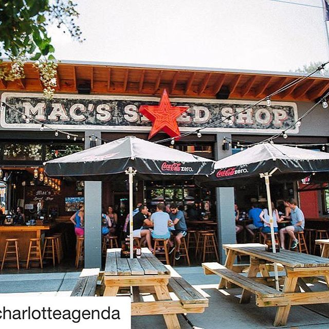 Congrats to our friends @macspeedshop !  #bbq. #Repost @charlotteagenda・・・Loving the new patio @macspeedshop  @tara_lilly