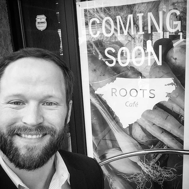 Can't wait for the new @roots_catering Cafe in Southend! @craigdbarbour is going to make this place amazing! #Dilworth #Dunstangroup