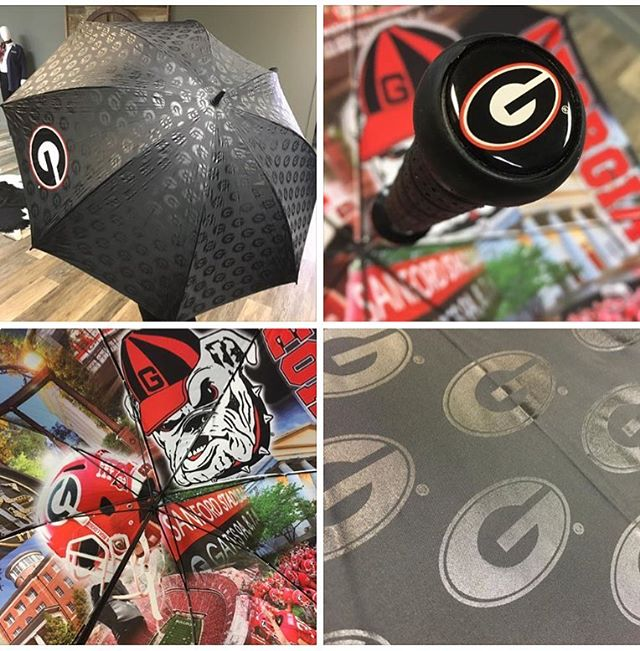 Yes, the bar on the custom umbrella game has been set high!  Ask how to get your team, brand, or company plugged in on a product like this. ...#customeverything #dunstangroup #georgia #umbrella