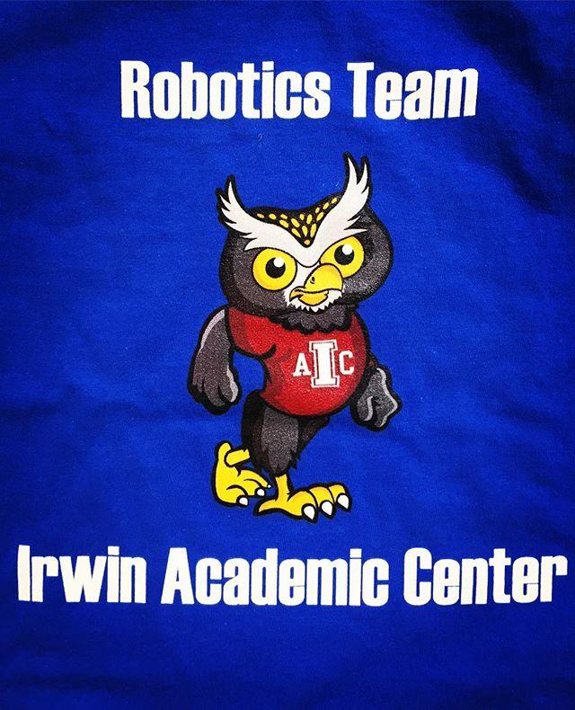 Big shoutout to Team Superbots and Team Anibots of the Irwin Academic Center Robotics Team! #NiceShirts #DunstanGroup....#robot #inspiration #nextgeneration #Charlotte #kids #RoboticsTeam #IrwinAcademicCenter #cms @charmeckschools