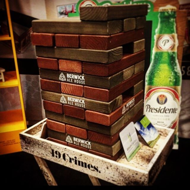 JENGA!!! What's better than a game of Jenga? A game of Jenga with your brand all over it! #CustomJenga #CustomEverything #DunstanGroup....#Jenga #DunstanGroup #charlotte #Games #Custom #Hasbro #lesliescott #ParkerBrothers #love #clt